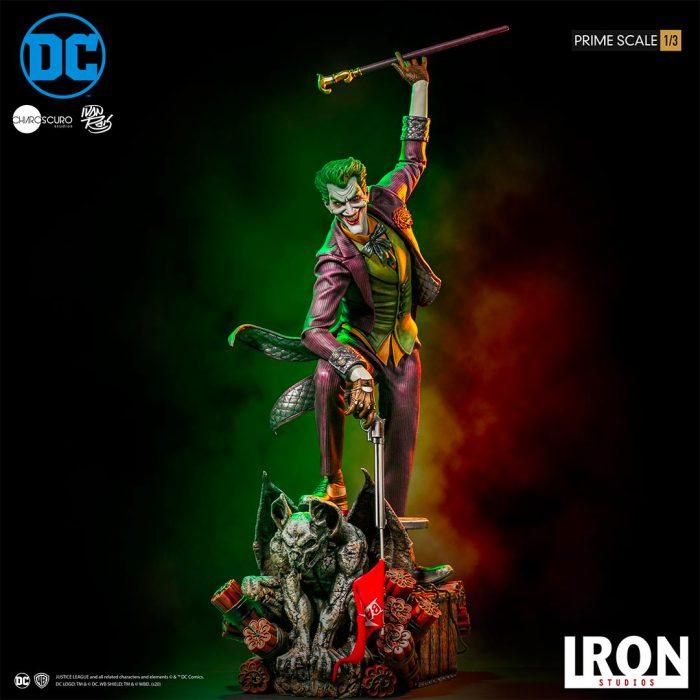 Joker - Ivan Reis - Iron Studios Statue