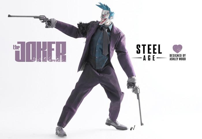Steel Age Joke Statue