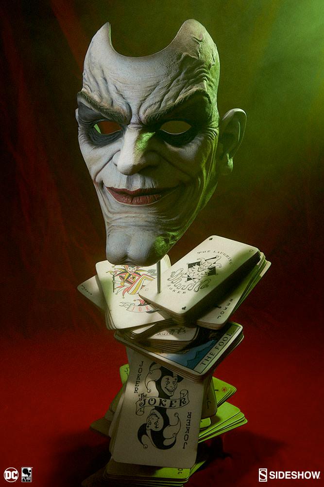 The Joker Face of Insanity Statue