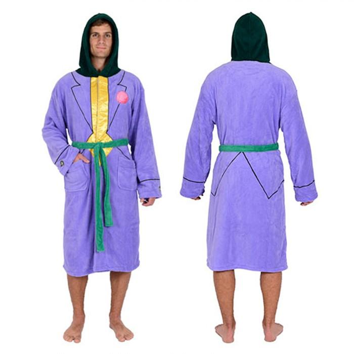 The Joker Fleece Robe