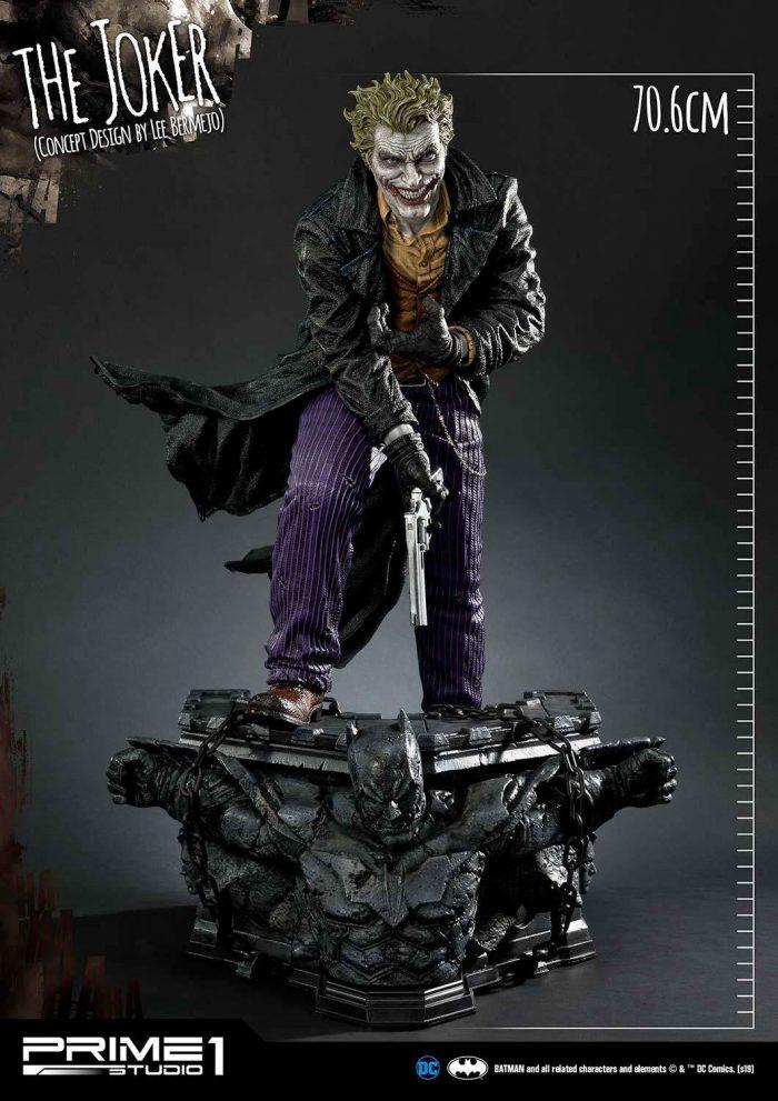 The Joker - Lee Bermejo Concept Design Statue
