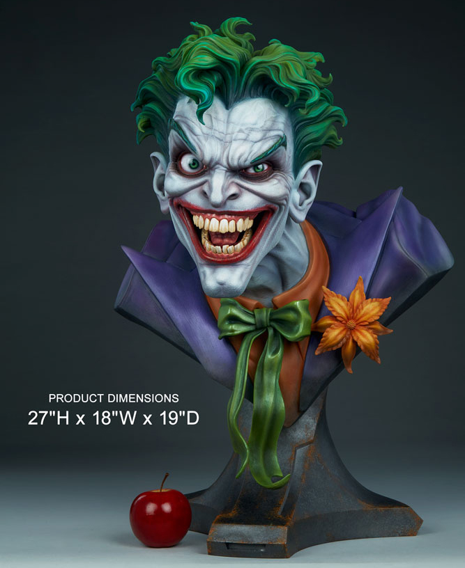 Life-Size Joker Bust