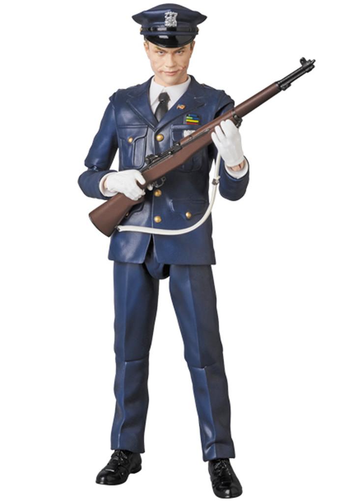 The Joker as a Cop - MAFEX Figure