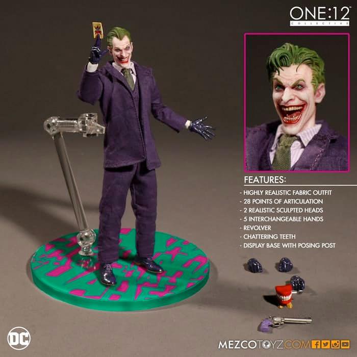 Mezco Toyz The Joker Figure