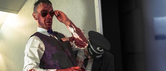 Joseph Gilgun as Cassidy - Preacher _ Season 1, Pilot - Photo Credit: Lewis Jacobs/Sony Pictures Television/AMC