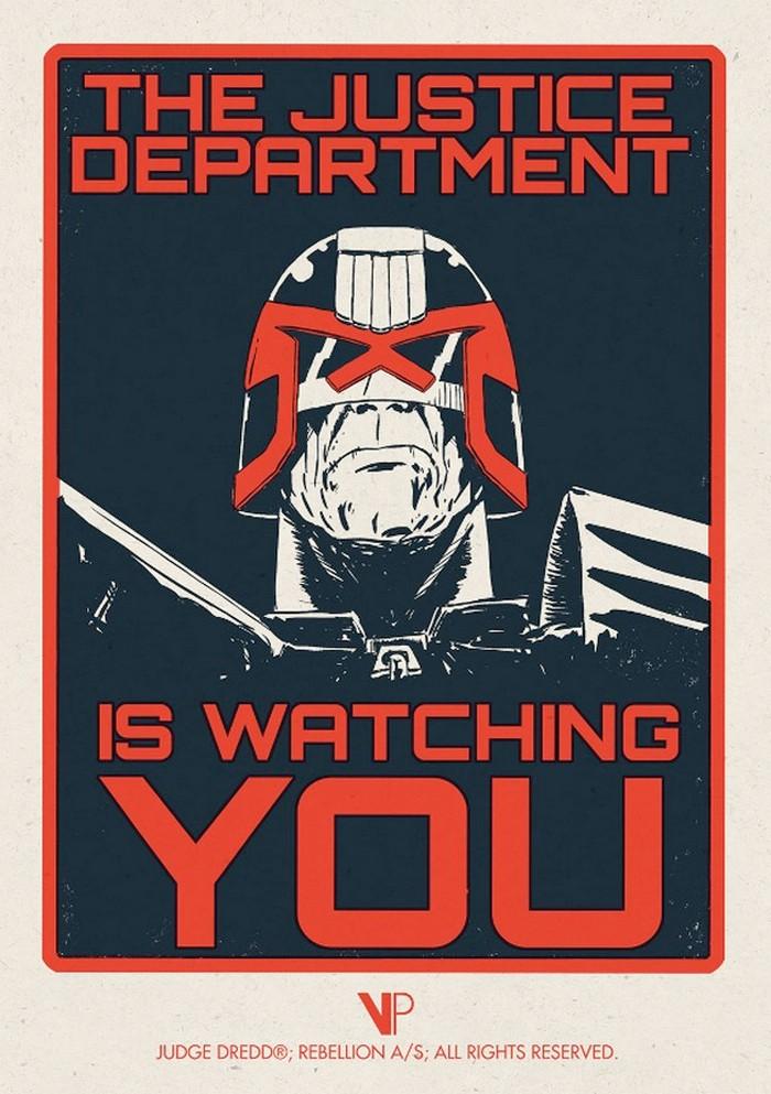 Judge Dredd Print - Matt Ferguson