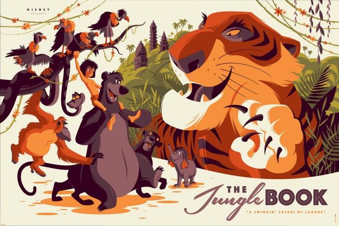 Tom Whalen The Jungle Book Print