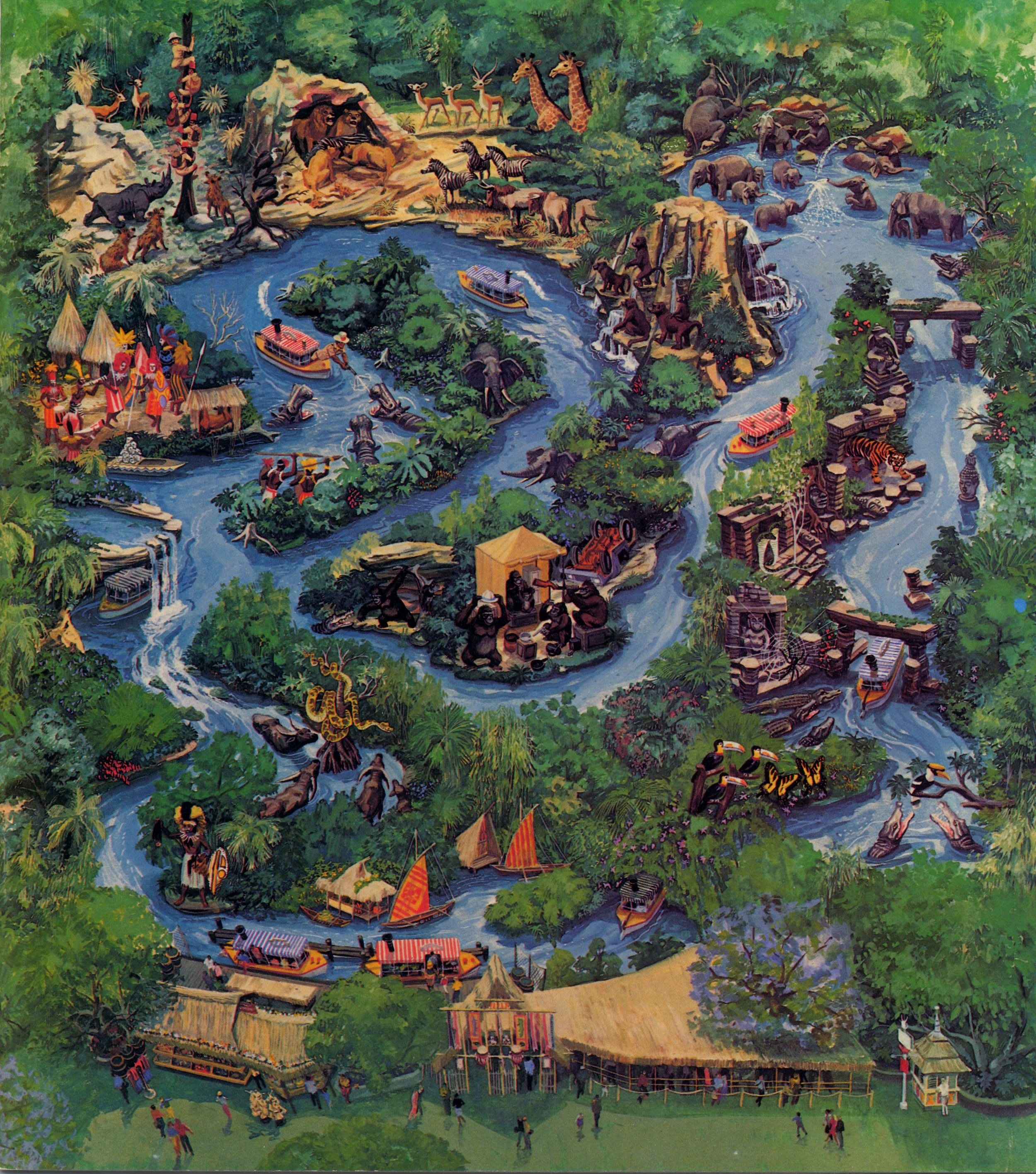 Jungle Cruise Movie Will Be Set In The 1920 S