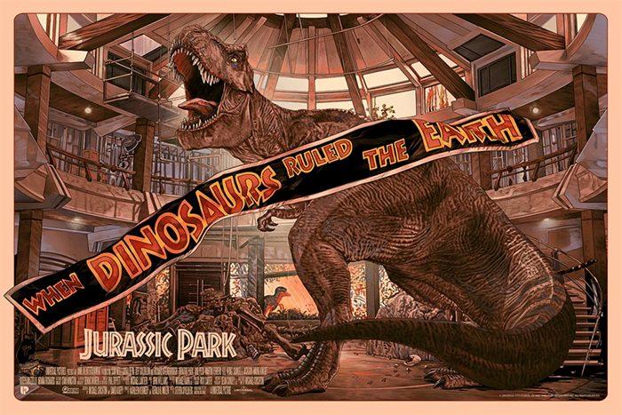 Jurassic Park Poster by Juan Carlos Ruiz Burgos