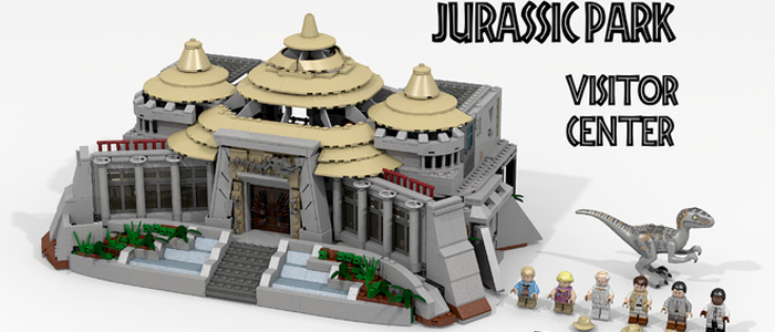 Vote to make a lego jurassic park visitor center set real - Jurasic park lego ...