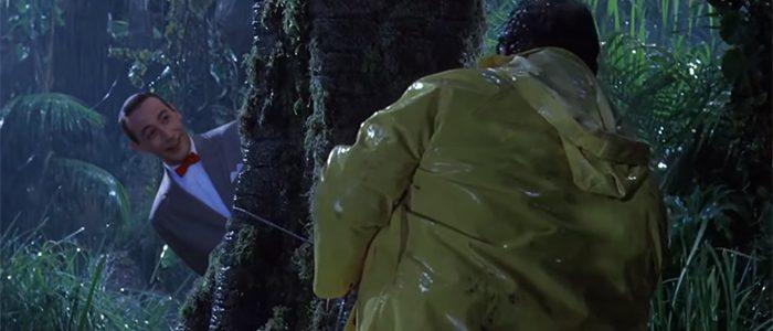 Jurassic Park with Pee-wee Herman