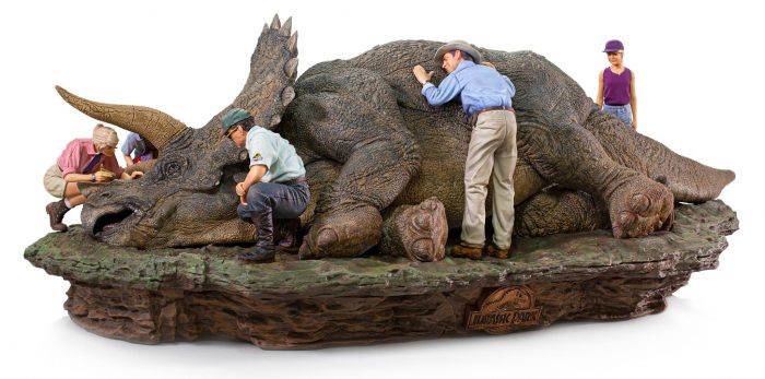 Jurassic Park Statues - Triceratops