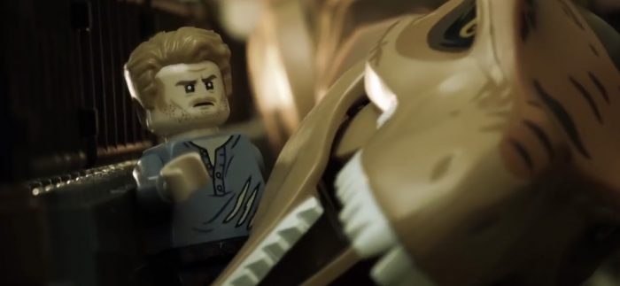 Jurassic World Fallen Kingdom LEGO Trailer - Stranger Things Reunion