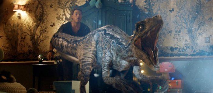 Jurassic World Fallen Kingdom Blu-ray