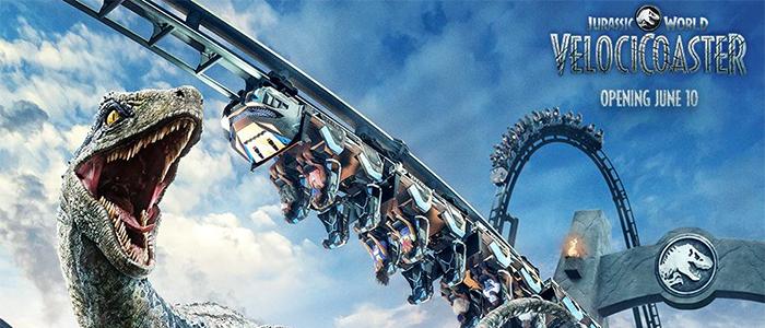 Jurassic World VelociCoaster Trailer Teases Universal's New Roller Coaster, Announces June Opening