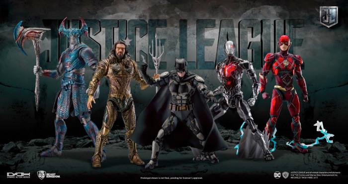 Justice League DAH Figures