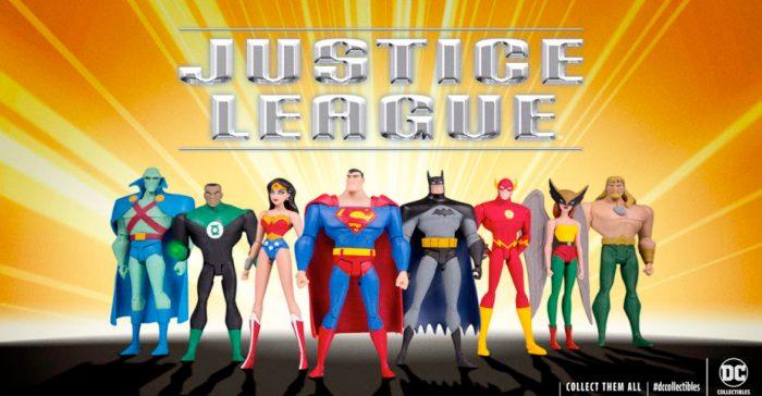 Justice League Figure Set - DC Universe