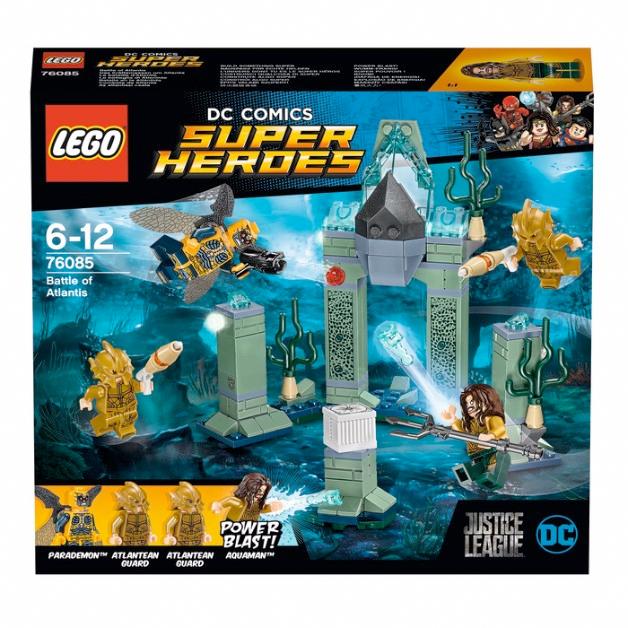 Justice League LEGO Set - Atlantis