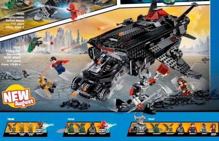 Justice League LEGO Set