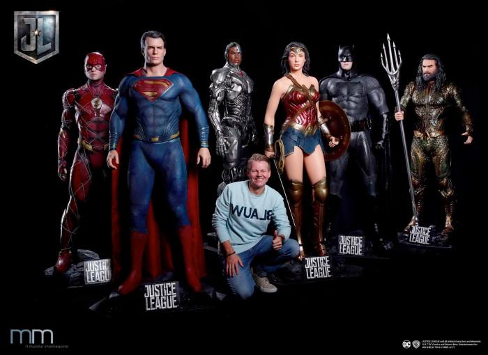 Justice League Life-Size Statues