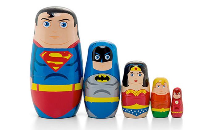 Justice League Nesting Dolls