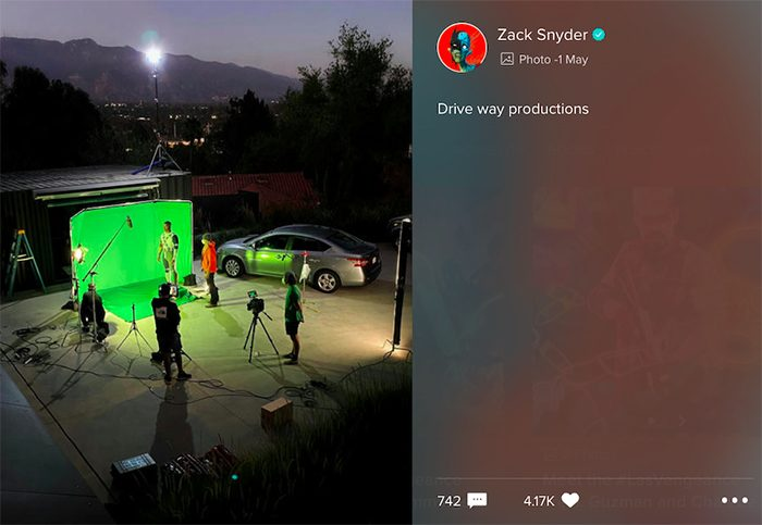 Zack Snyder's Justice League - Green Lantern Cameo
