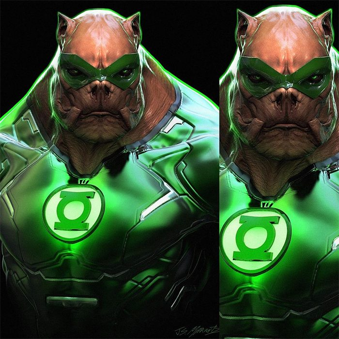 Zack Snyder's Justice League - Koilowog Concept Art