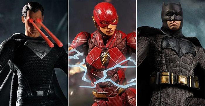 Zack Snyder's Justice League Mezco Toyz Box Set