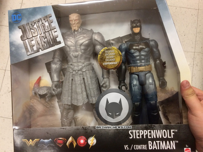 Justice League - Steppenwolf and Batman Two-Pack