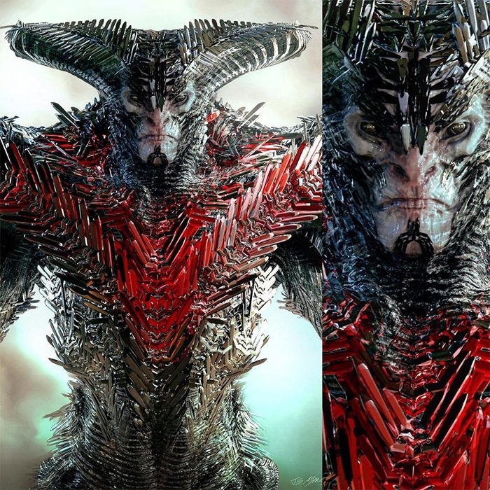 Justice League - Steppenwolf Concept Art