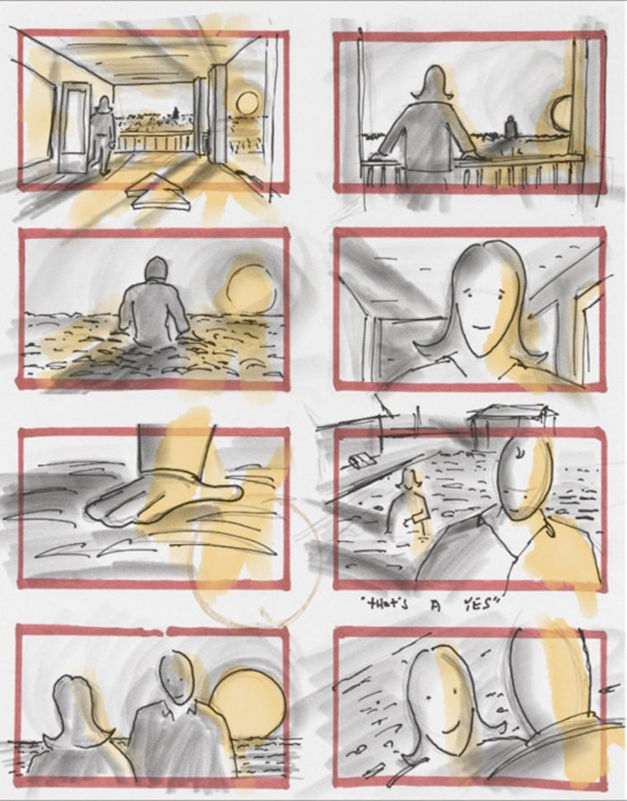 Justice League Storyboard - Lois and Clark