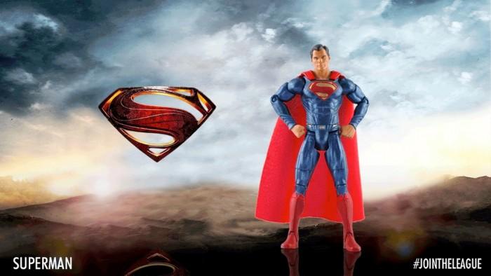 Superman Action Figure - Justice League