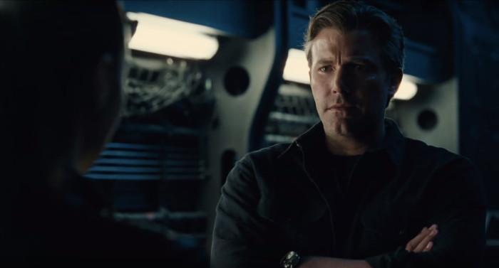 Justice League - Ben Affleck as Bruce Wayne