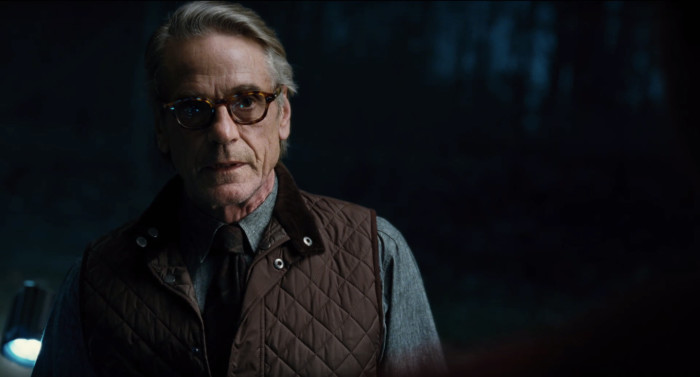 Justice League - Jeremy Irons as Alfred