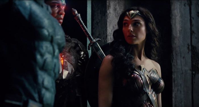 Justice League - Cyborg and Wonder Woman