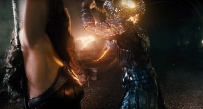 Justice League - Steppenwolf and Wonder Woman