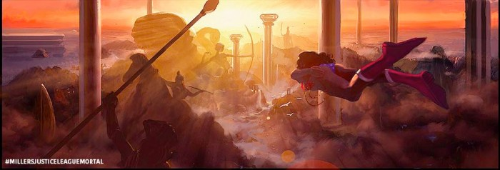 George Miller's Justice League - Wonder Woman concept art