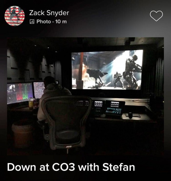 Justice League Edit Bay