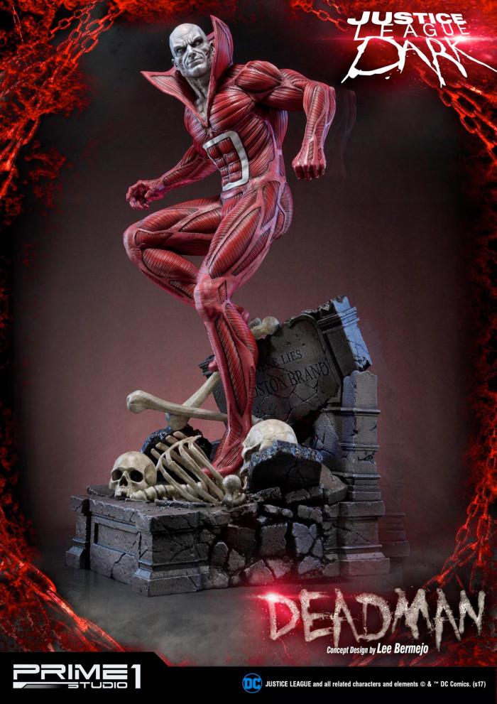 Justice League Dark - Deadman Statue