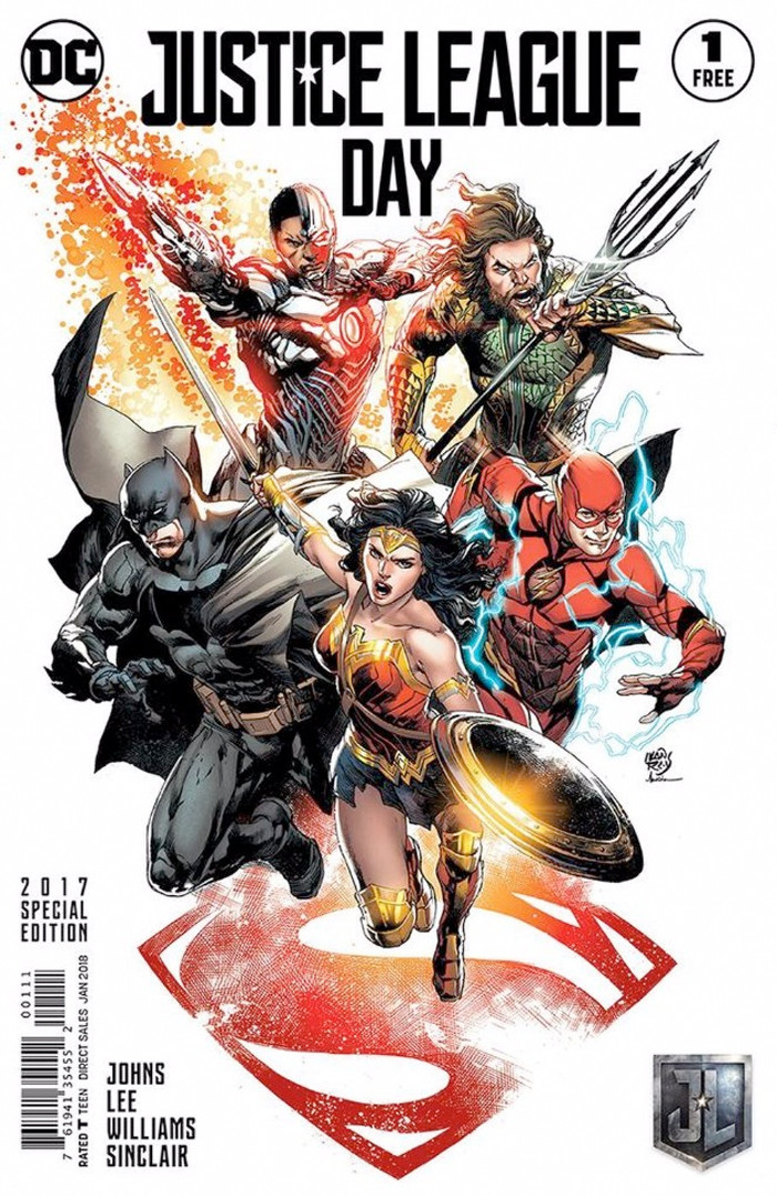 Justice League Day - Comic Cover