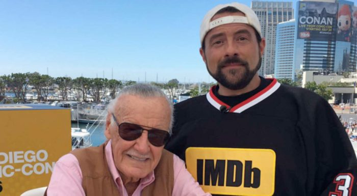 Kevin Smith and Stan Lee