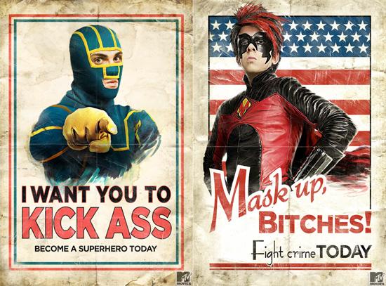 Kick-Ass Movie Posters