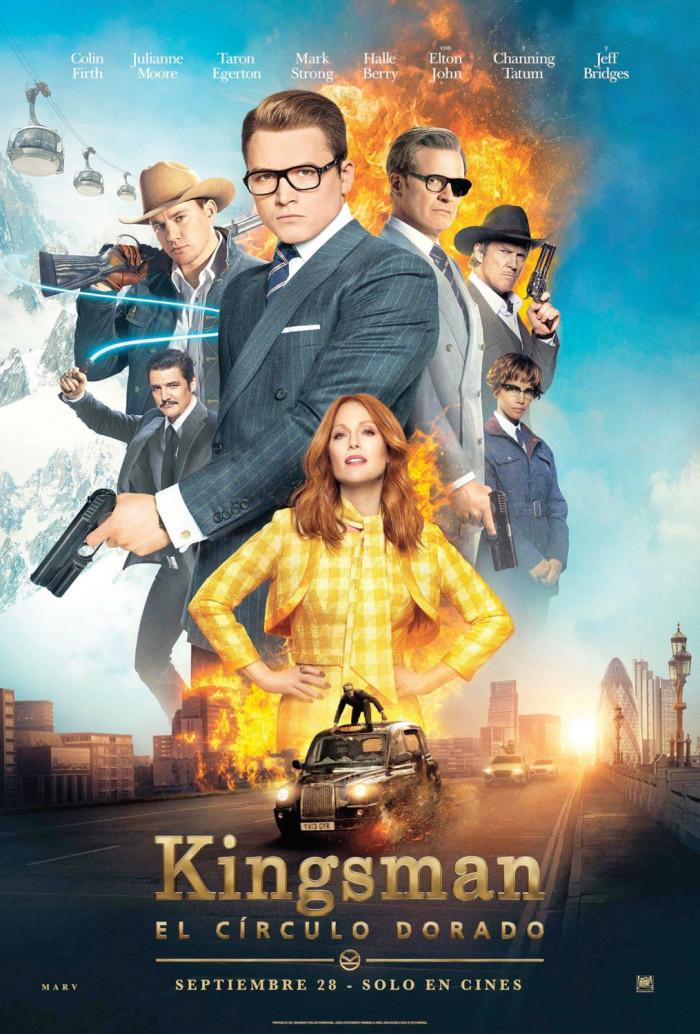 Kingsman The Golden Circle International Poster