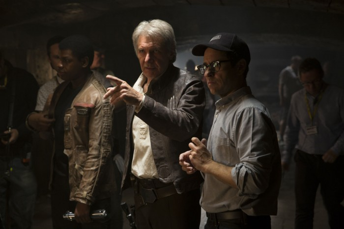 JJ Abrams Harrison Ford Star Wars: The Force Awakens
