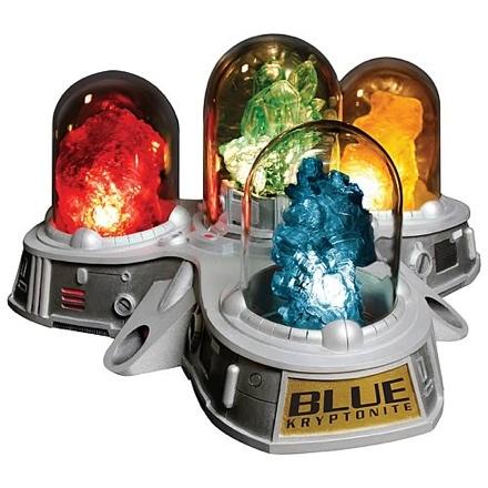 Multi-colored Kryptonite Replica Display