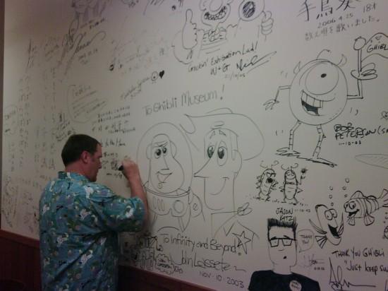 john lasseter wall of fame