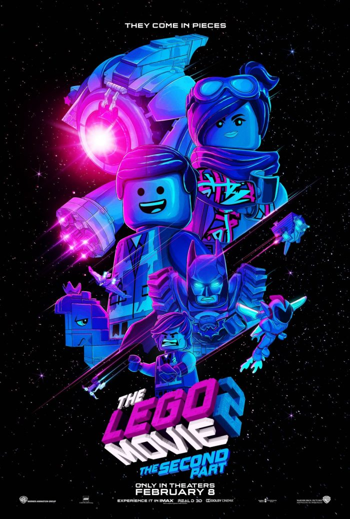 Lego 2 Blacklight Poster