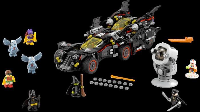 LEGO Batman Movie Ultimate Batmobile