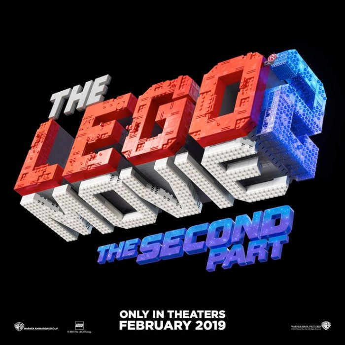 The LEGO Movie 2 Title Logo