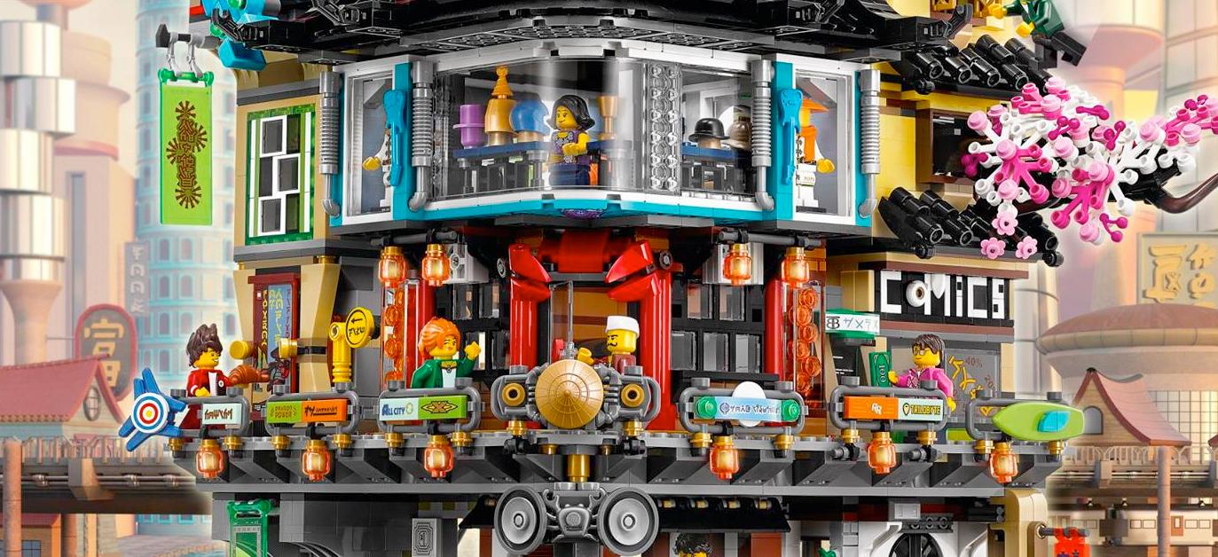 Cool Stuff: The LEGO Ninjago Movie's Ninjago City LEGO Set ...